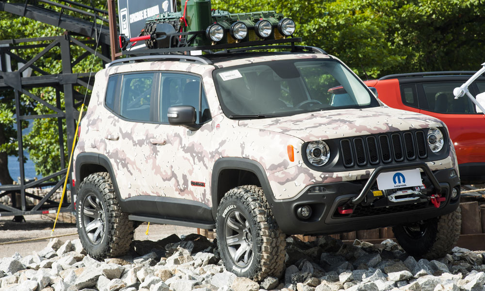 Jeep Renegade Trailhawk Lift >> Mopar-modified Jeep Renegade trio heats up Rio | FCA North America Corporate Blog