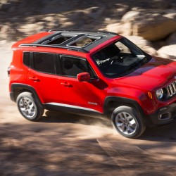 The Jeep Renegade offers the My Sky roof panel system.