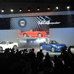 Fiat 124 Spider reveal at the LA Auto Show