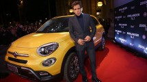 Zoolander and a Fiat 500X on the red carpet