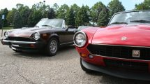 A number of Fiat 124 Spiders were part of the Fiat Freakout.