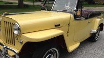 Ed Masuga's restored 1948 Jeepster
