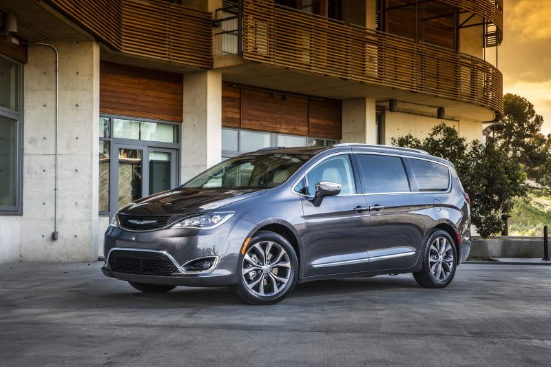 2017 Chrysler Pacifica Limited.