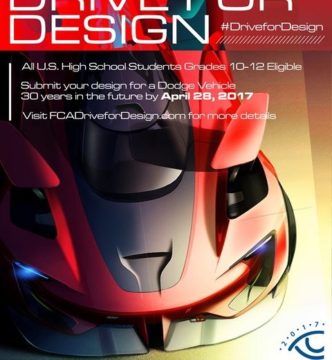 Drive for Design poster