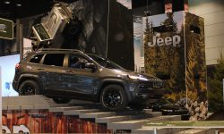 Workers from the Belvidere Assembly Plant experienced the Camp Jeep track at the Chicago Auto Show.