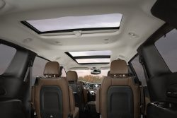 Tri-pane panoramic sunroof