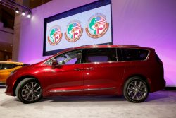 The Chrysler Pacifica was named North American Utility Vehicle of the year.