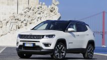 Jeep Compass debuts with European media in Lisbon, Portugal.