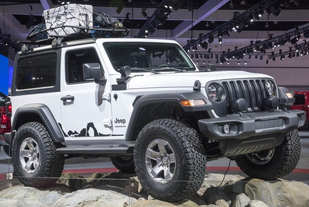 Mopar Jeep Parts >> Wrangler Wednesday New And Redesigned Parts And Accessories